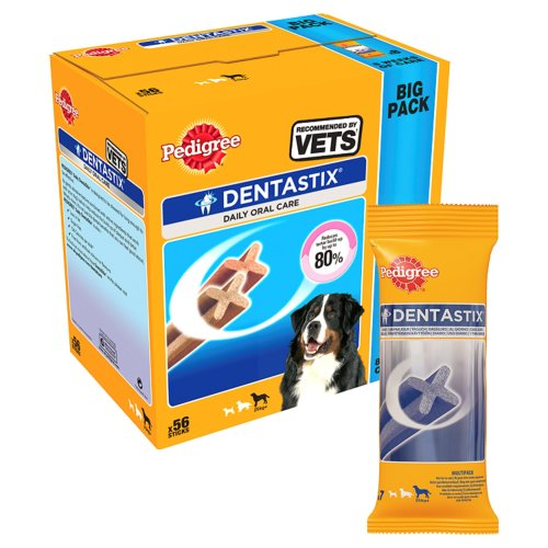 Mars Petcare Pedigree Dentastix Dog Chews (Pack Of 56)