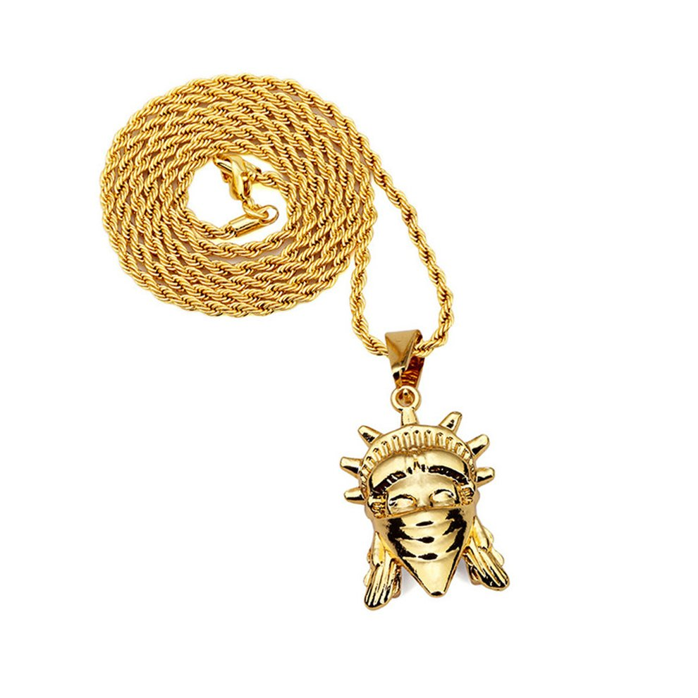 Jewelry & Watches Hip Hop Cool Accessories Alloy Men personality Fashion Western Necklace Jewelry