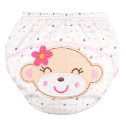 Set of 2 Diaper Pants Cotton Waterproof Wash Pants Vervet