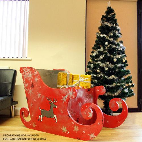 MDF Santa Sleigh