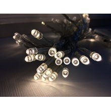 B/op 50 Warm White LED Lights Perfect For Xmas - Battery Operated Fairy -  50 battery operated lights led fairy xmas christmas party new power