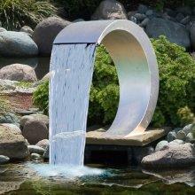 Ubbink Mamba Garden Waterfall Stainless Steel