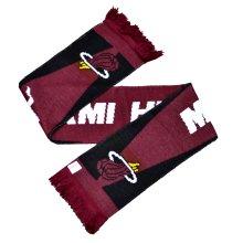 Nba Miami Heat Optics Scarf - Official Licensed Gift New Supporters -  nba heat scarf miami optics official licensed gift new supporters