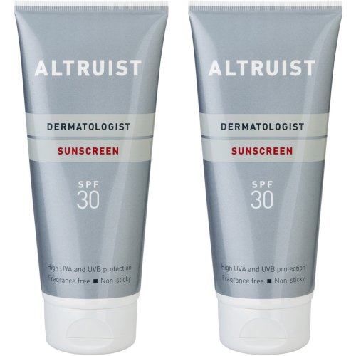 2 x Altruist Dermatologist Sunscreen SPF 30 | High UVA Protection Cream