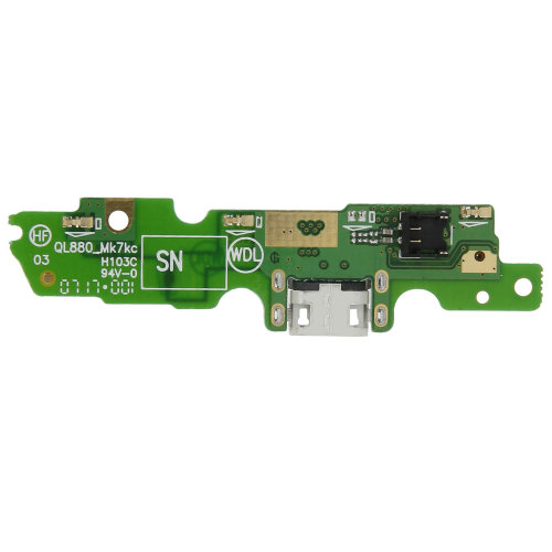 Micro-USB charge connector replacement part for Motorola / Lenovo Moto G5