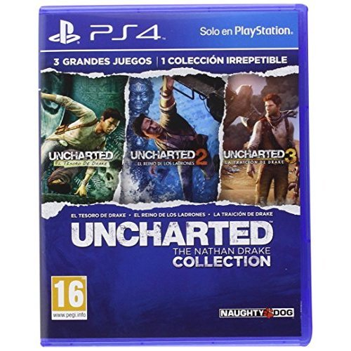 Sony - Sony Uncharted Collection/spa Ps4 - 9866534