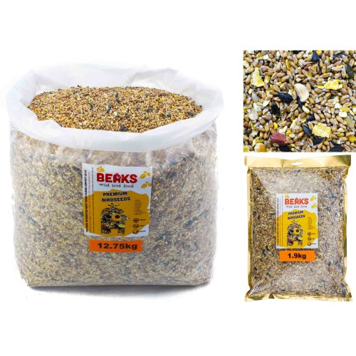 Premium bird seed for feeding of wild garden birds