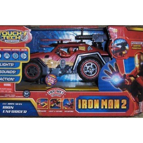 Iron Man 2 Enforcer Tough Tech action Vehicle by Jada