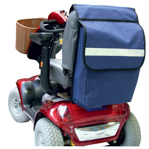 Mobility Scooter Shopping Bag - Mobility scooter back sack storage bag.