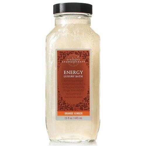 Bath & Body Works Aromatherapy Orange Ginger Energy Luxury Bath 15 oz / 445 ml