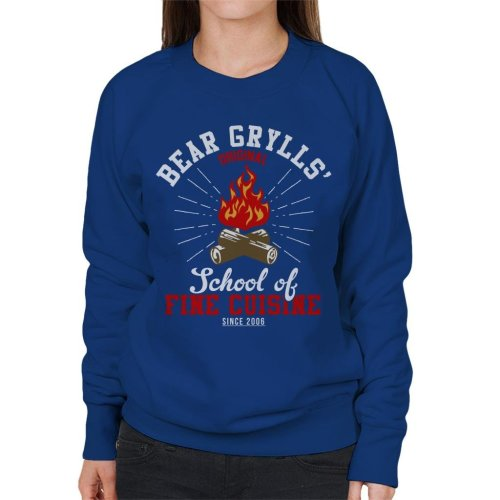Bear Grylls School Of Fine Cuisine Women's Sweatshirt