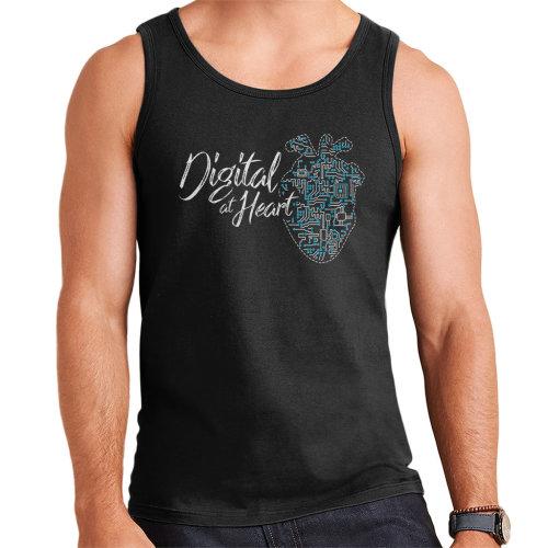 Digital At Heart Men's Vest