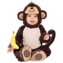Kids Baby Toddler Monkey Around Costume