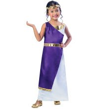 Kids Roman Girl Costume