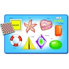 Creative Early Years Play And Learn Shapes Puzzle - Cre0606 -  cre0606 creative early years play learn shapes