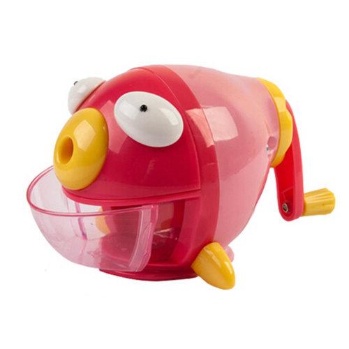 Cute Fish Manual Pencil Sharpener For Office And Classroom?Cute Bubble Fish