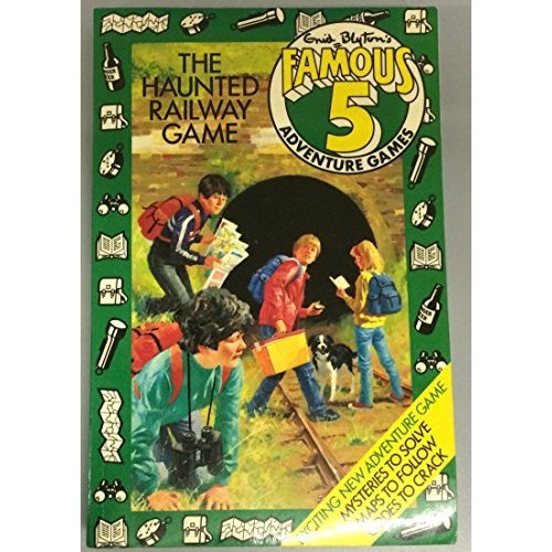 The Haunted Railway Game (Famous Five Adventure Games)