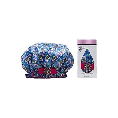 Dry Divas Washable Shower Cap Atomic Glo