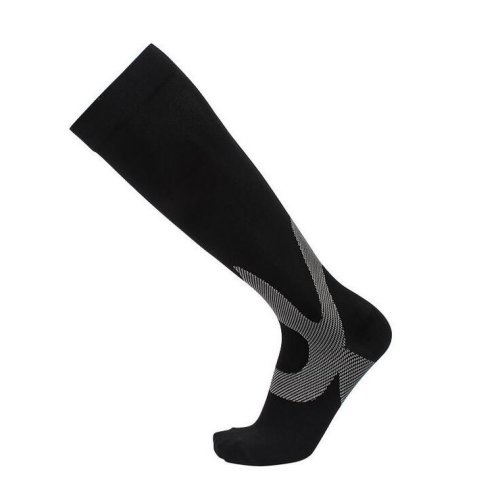 Black Graduated Compression Socks - Firm Support