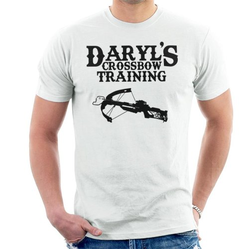 Daryls Crossbow Training Walking Dead Men's T-Shirt
