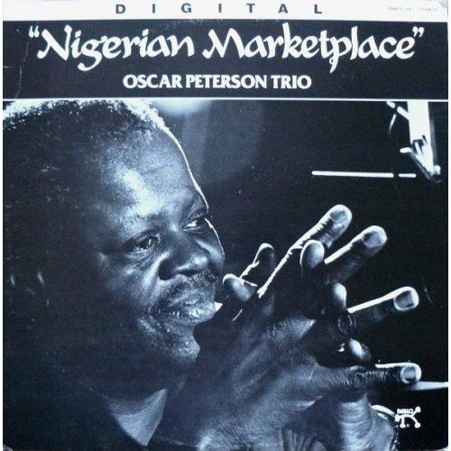 Nigerian Marketplace RED VINYL (US 1982) , The Oscar Peterson Trio