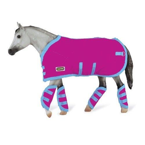 Breyer Tack Blanket & Shipping Boots - Hot Pink!