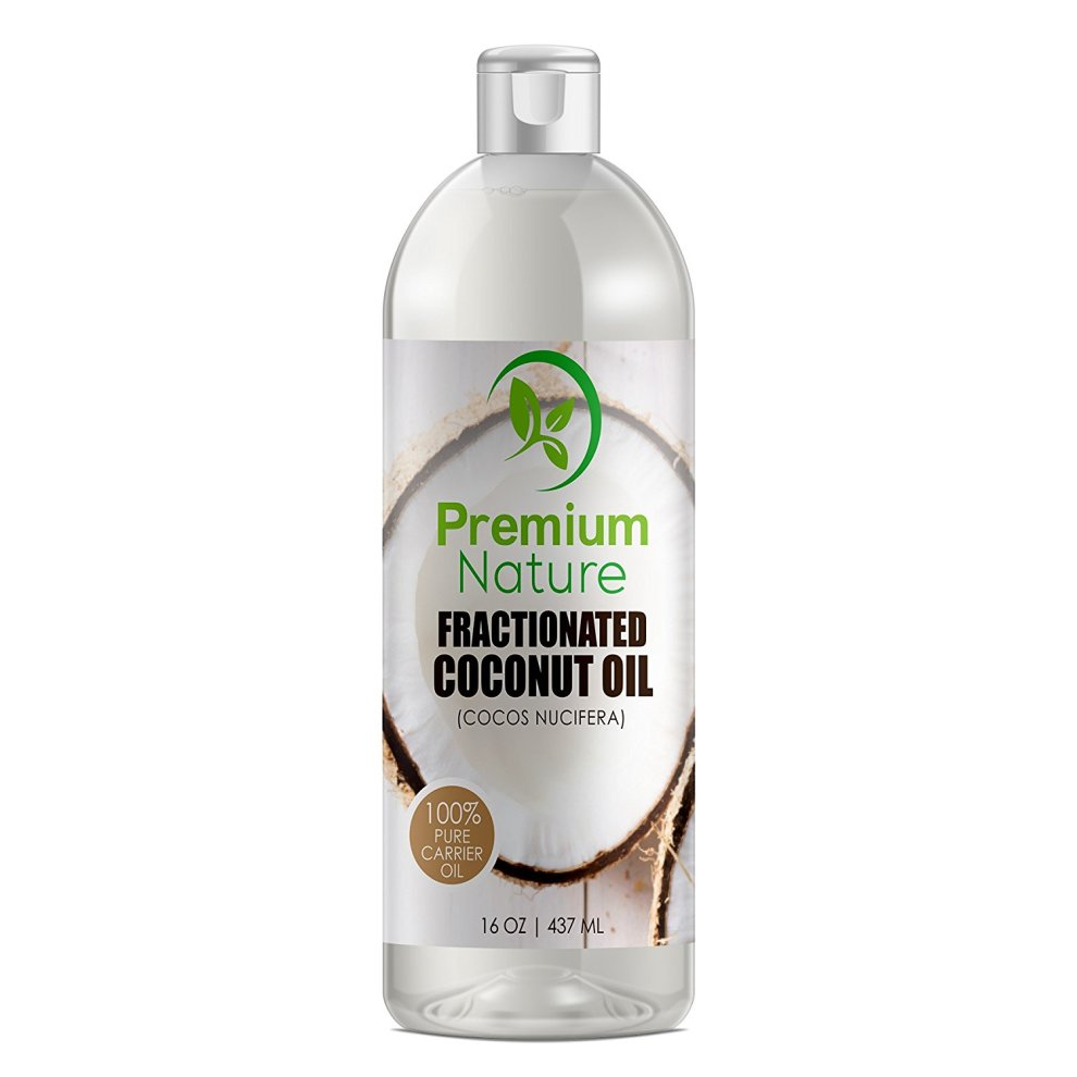 Fractionated Coconut Oil Skin Moisturizer Natural, Pure Carrier Oil Massage  Oil