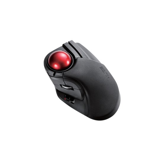 8fbf1d6df74 ELECOM M-HT1DRBK Wireless Trackball Mouse - Extra Large Ergonomic Design,  8-Button Function with Smooth Tracking, Black on OnBuy