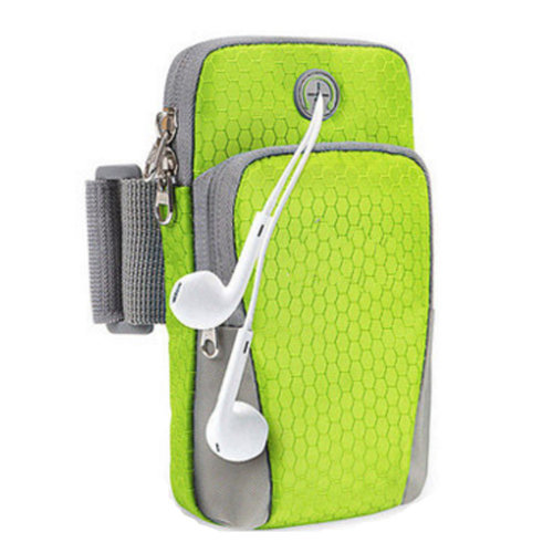Running Phone Bag Men and Women Wrist Vag Arm Bag#C