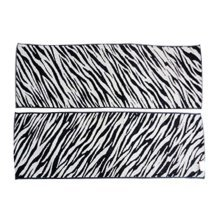 Set of 2 High Quality Absorbent Hip-hop Sport Towels Yoga Towels Zebra-stripe