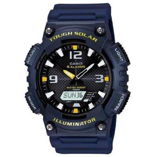 Casio AQS810W-2A2V Solar Anadigi Watch Navy Wht