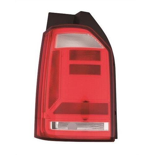 Volkswagen Transporter Van 2015-  Rear Lamp Not LED Type - Red Lens (Tailgate Models) Passenger Side L