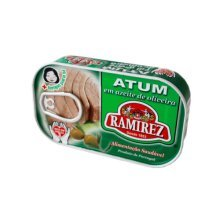 4 x Cans Portuguese Tuna Fish in Olive Oil Ramirez Canned Tuna Fish