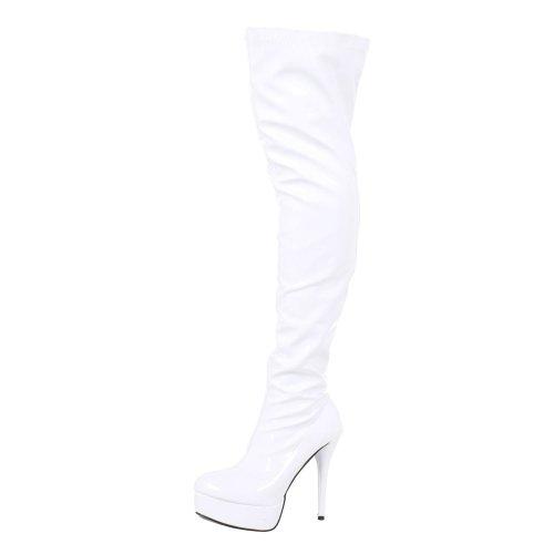 Dita Womens Thigh High Platform Boots