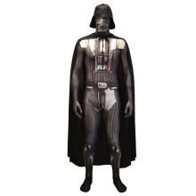 Star Wars Darth Vader Adult Unisex Zapper Cosplay Costume Digital Morphsuit - Large - Multi-Colour (MLZDVL-L)