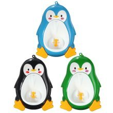 Lovely Penguin Baby Urinal Toddler Potties Boys Pee Trainer Children Removable Toilet Bathroom