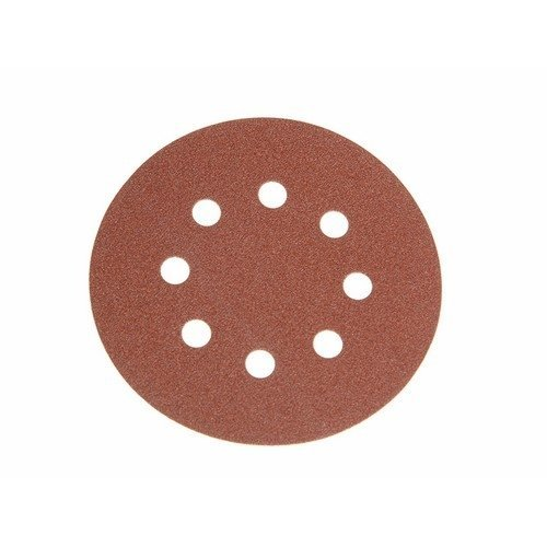 Faithfull FAIAD12540H Aluminium Oxide Disc DID3 Holed 125mm x 40g (Pack of 25)