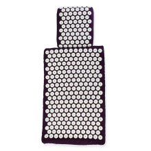 White Lotus Acupressure Mat and Pillow for Natural Relief of Stress/Pain/Tension