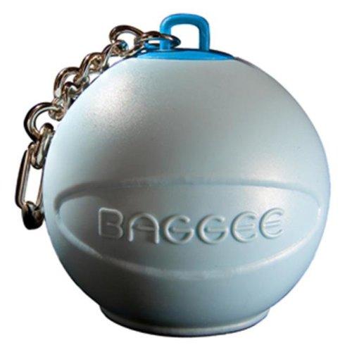 Baggee Plastic Bag Holder Keyring - Blue