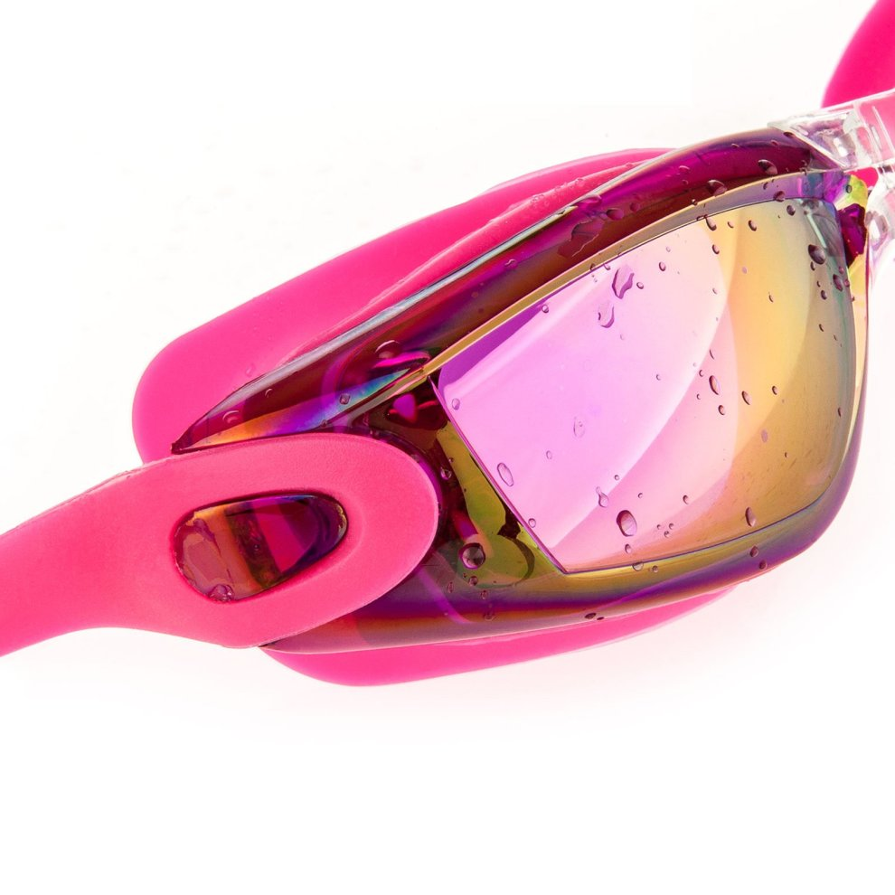 2e052eb80d2 ... Proworks Swimming Goggles with Mirrored Lenses