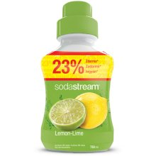 Sodastream Concentrate Syrup 750ml. Lemon Lime