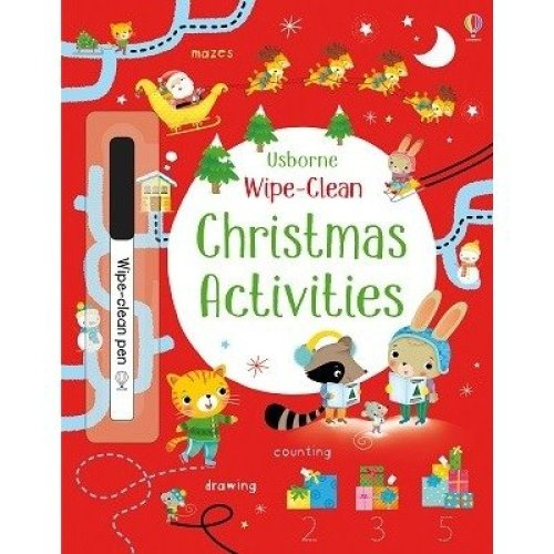 Wipe-clean Christmas Activities
