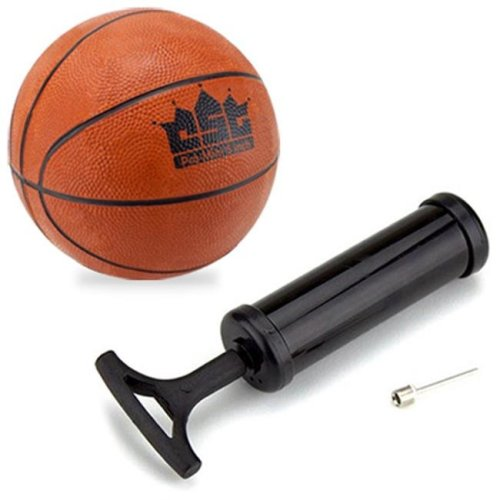Brybelly Holdings SBAS-101.201.202 5-Inch Mini Basketball with Needle and Inflation Pump