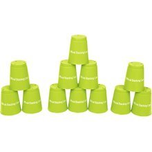 Quick Stack Cups - Set of 12 Sport Stacking Cups - By Trademark Innovations