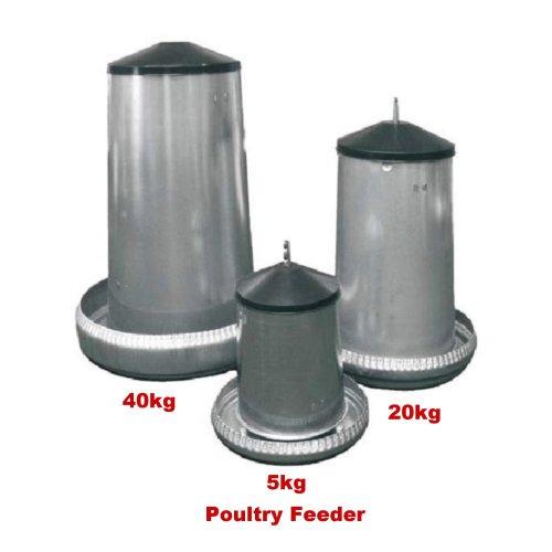 Galvanized Poultry Feeder 5kg