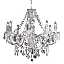 Classical Marie Therese Style 8 Arm Clear Acrylic Chandelier