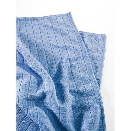 Buscher 5034-319 Set of 2 Universal Floor Cloths Microfibre High-Low Structure 50 x 60 cm