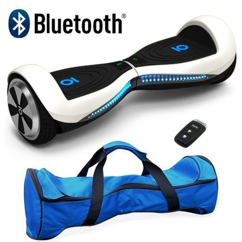 White Bluetooth Segway Hoverboard Swegway