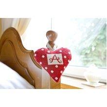 Alphabet Lavender Heart Tapestry Kit