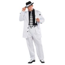 Pinstripe Pimp Daddy Gangster Costume